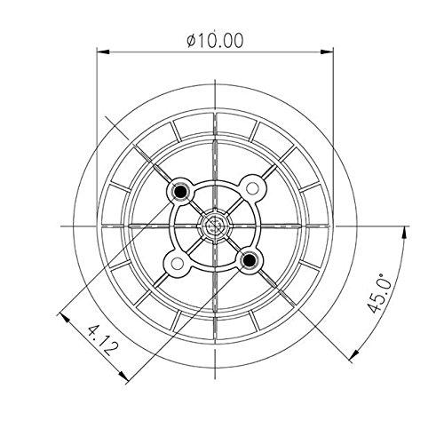 Replacement Air Spring Blacktech RML 79213 CP
