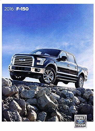 2016 Ford F-150 Truck 60-page Sales Brochure Catalog - Platinum King (Ford F150 Brochure)