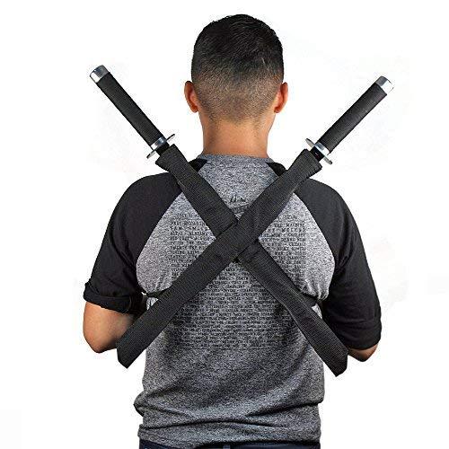 Ace Martial Arts Supply Ninja Assassin Strike Force Twin Swords Set ()