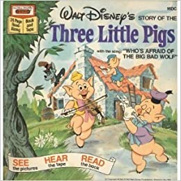 Walt Disneys Story of the Three Little Pigs with the Song Whos