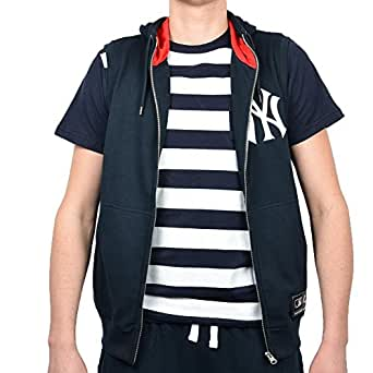 Majestic Chaleco MLB New York Yankees Manial Negro/Blanco ...