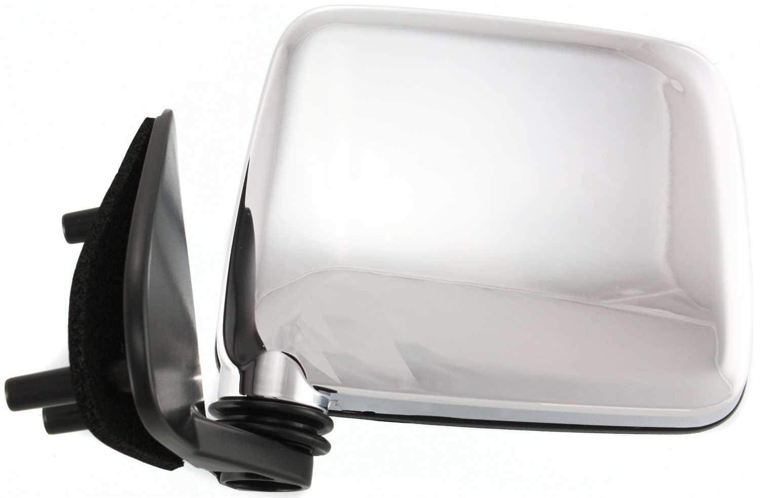 Fits Nissan Pick Up Harbody 86-94 Left Hand Mirror Manual Chrome Drivers Side