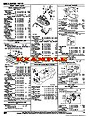 MANUFACTURER'S COLLISION REPAIR SHEETS COMPATIBLE WITH 2000-2007 JAGUAR S-TYPE