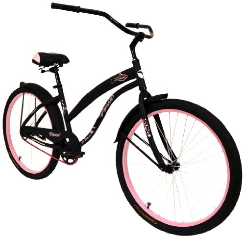 Verso by Kettler 26″ Vegas Cruiser 1-Speed Bicycle: Women's Bike, Pink/Black Review