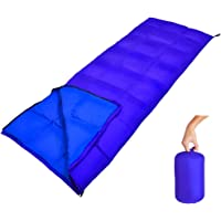 Geertop Portable Ultralight Camping Sleeping Bag with Compression Sack 3 Season Warm & Cool Weather Comfortable Outdoor Camp Sleeping Bags for Adults Men & Women - for Traveling Hiking Backpacking
