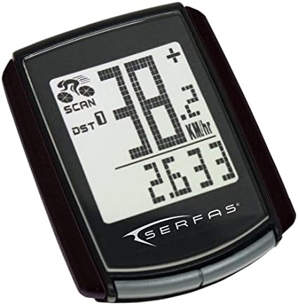 SERFAS WIRELESS SPEED CYCLING COMPUTER~LEVEL 4~13 FUNCTION