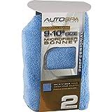 Eckler's Premier Quality Products 50-288842 Microfiber Polishing Application Bonnet (10'') For (10'') Polisher, 2pk