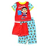 Paul Frank Julius Jr Toddler Red 3 pc Poly Pajamas Set (3T)