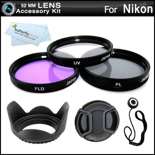 52MM Professional Lens Accessory Kit for NIKON ()