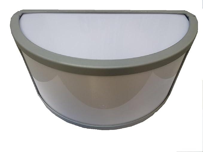 Plafoniera Da Esterno Grigia : Faretto lampada applique plafoniera da esterno mezzaluna cm