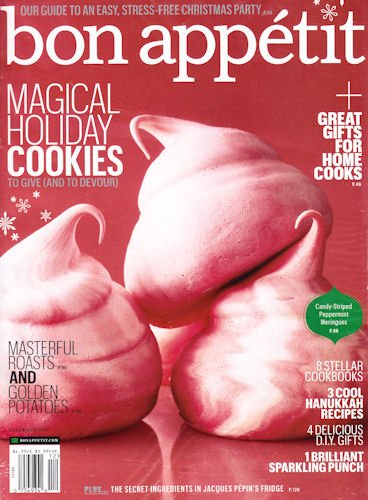 Download Bon Appetit Magazine December 2011 - Magical Holiday Cookies to Give (and to Devour) pdf epub