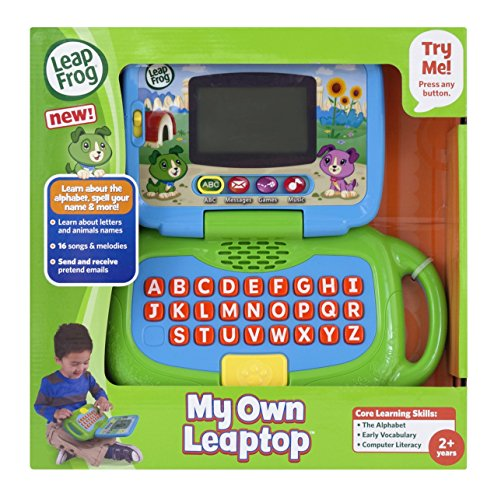 51l%2B9p8i8eL - LeapFrog My Own Leaptop, Green