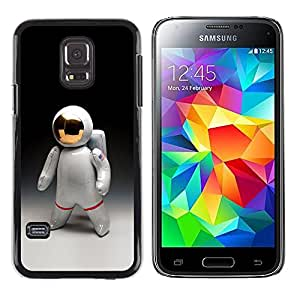 A-type Colorful Printed Hard Protective Back Case Cover Shell Skin for Samsung Galaxy S5 Mini / Samsung Galaxy S5 Mini Duos / SM-G800 !!!NOT S5 REGULAR! ( Astronaut Man Cosmonaut Space Suit )