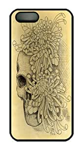 iPhone 5S Case and Cover -Skull Mums Custom PC Hard Case Cover for iPhone 5/5S Black