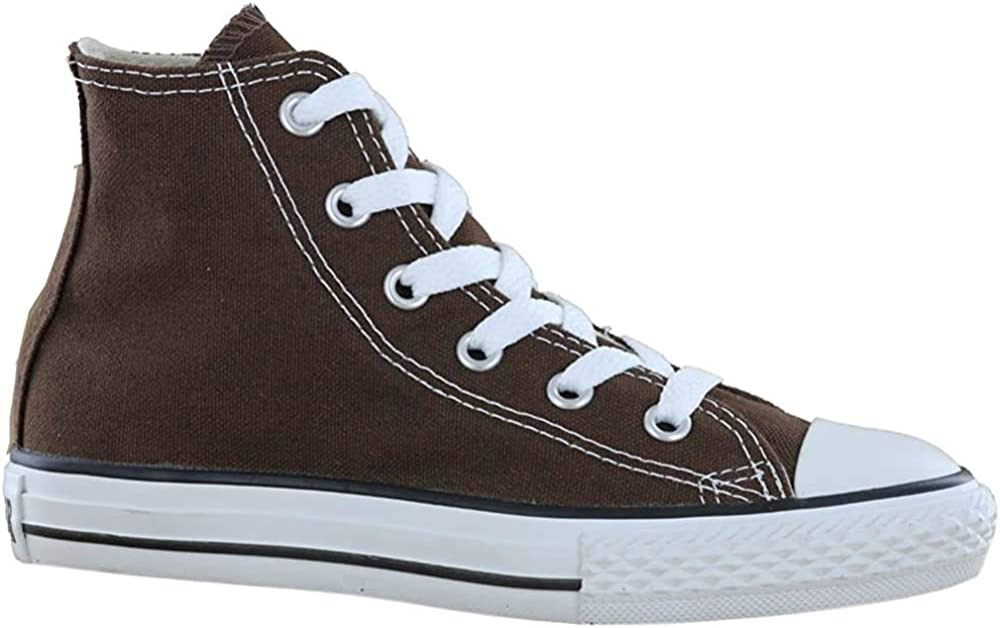 Converse Chuck Taylor All Star Core Hi, Baskets mode homme Marron Chocolat