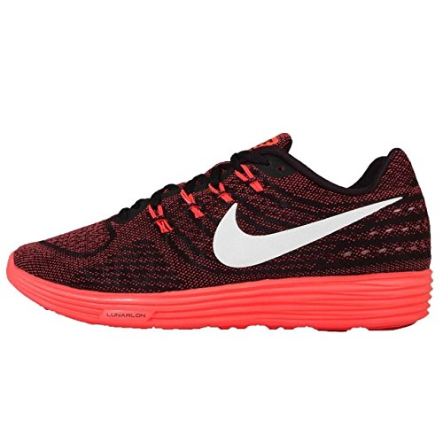 Nike Lumartempo 2 Mens Running Trainers 818097 Sneakers Shoes (US 10.5, university red white black 601)