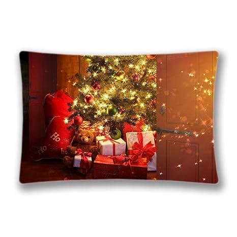 Amazon Com Gibmatt Christmas Pillow Cover Christmas Tree