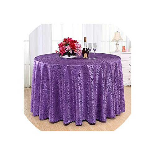 See Something Round Tablecloth Dust-Proof Rectangular Dining Table Cloth Wedding/Banquet Table Cloths,Tablecloth 7,320x320cm Round