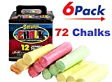 Chalk (72 Count) JA-RU | Chalks 6 Boxes 12 | Item #3508-6