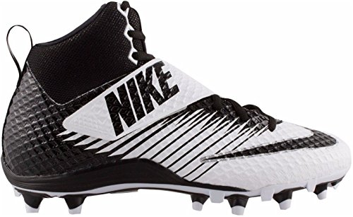 Nike Lunarbeast Elite TD Football Cleats Shoes Black White Mens Size 13