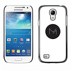 Be Good Phone Accessory // Dura Cáscara cubierta Protectora Caso Carcasa Funda de Protección para Samsung Galaxy S4 Mini i9190 MINI VERSION! // M in dot