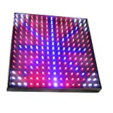 HQRP Blue / Red / Orange / White Grow LED Light Panel for Budding, Flowering and Vegetative Glowth Promotion 14W 77 red + 47 blue + 77 Orange + 24 White LED 12 inch + Hanging Kit + UV Meter