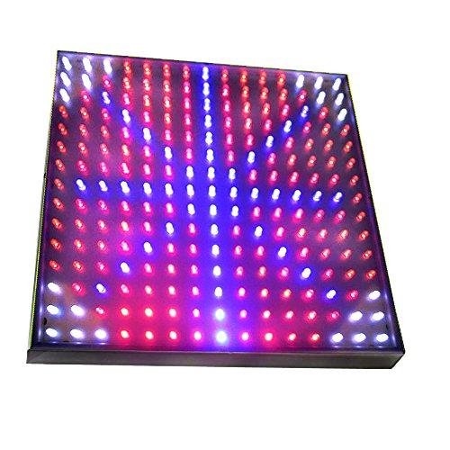 Cheap HQRP Blue/Red / Orange/White LED Grow Light Panel for Budding, Flowering and Vegetative Glowth Promotion 14W 77 red + 47 blue + 77 Orange + 24 White LED 12 inch + Hanging Kit + UV Meter