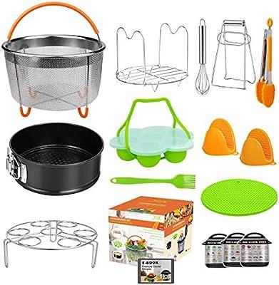 Amazon.com: Juego de 15 piezas de accesorios para ollas ...