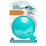 StopShroom Universal Stopper Plug Cover for Bathtub, Bathroom, and Kitchen Drains, Aqua