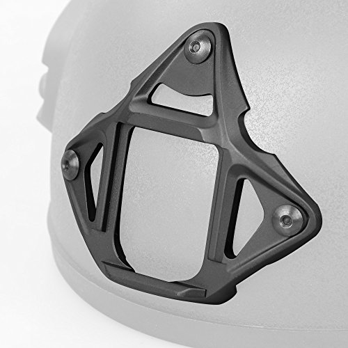 Canis Latran Tactical 3-Hole Type 2 Skeleton NVG Mount Shroud for ACH/MICH/OPS-Core FAST/Crye AirFrame Helmet by Canis Latran