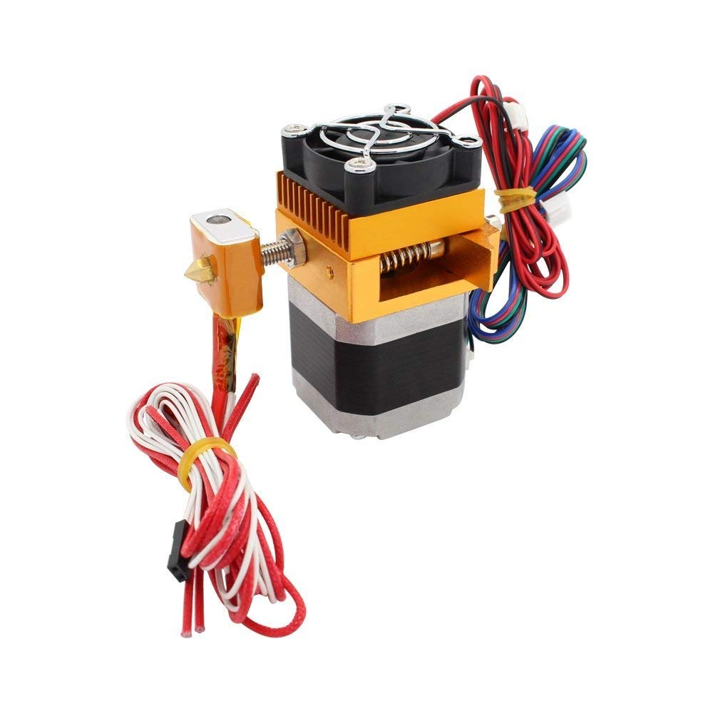 REDREX Metal 1.75mm MK8 Extruder with 0.4mm Print Head for MakerBot Prusa i3 Anet A8 DIY 3D Printers