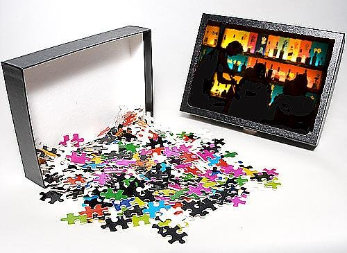 Photo Jigsaw Puzzle of Nizza bar, Montreal, Quebec, Canada, North America
