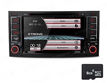 XTRONS® 7 inch HD Digital pantalla táctil Radio estéreo de coche in-dash reproductor