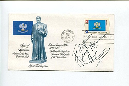 Clarence Frogman Henry Rhythm and Blues Singer Pianist Signed Autograph FDC - NHL Cut Signatures