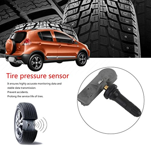 DOWL Tire Air Pressure Monitor System Sensor 4pcs Tire Pressure Sensor 25920615