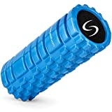 Foam Roller for Deep Tissue Massage - Trigger Point Therapy and Myofascial Release (Blue)