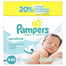 Pampers Baby Wipes Sensitive 7X Refill, 448 Count