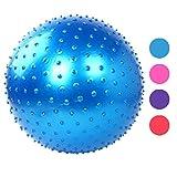 Nacome New 65cm Massage Granules Exercise Ball Fitness Ball Exercise Ball Yoga Ball