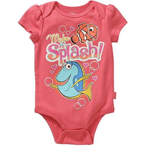 (Disney Finding Dory Make a Splash Baby Girls Bodysuit Dress Up Outfit)