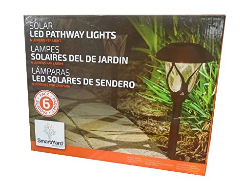 Alpan 6 Pack Solar Led Lights