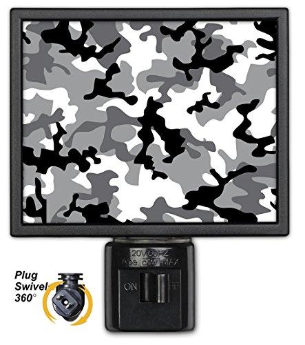 Art Plates NL-979 Grey Camouflage Night Light