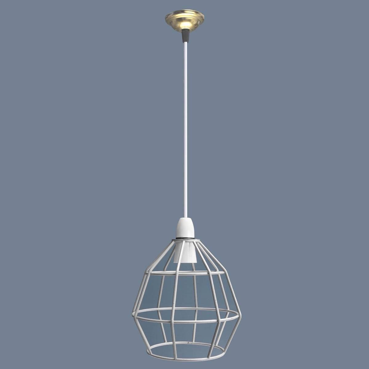 KingSo B22 Edison Vintage Industrie-Stil Metall Käfig Draht Rahmen ...