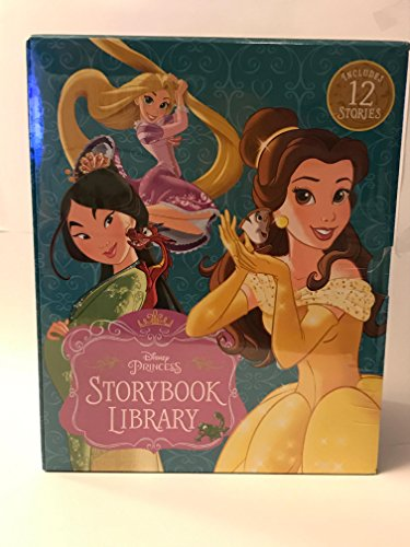 (Disney PRINCESS STORYBOOK LIBRARY. Includes 12 STORIES.)