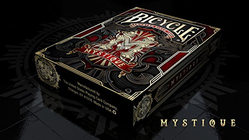 (Bicycle Mystique Red Playing Cards Deck Limited Edition)