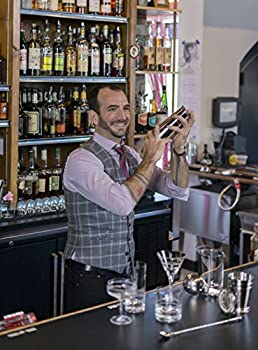 3.75 Stainless Steel Spirits//Cocktail Jigger with Fine Beaked Spout for Precise Pouring Crafthouse by Fortessa Professional Metal Barware//Bar Tools by Charles Joly