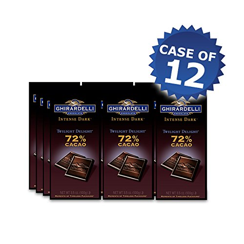 - Ghirardelli Intense Dark 72% Cacao Bar Case Pack of 12