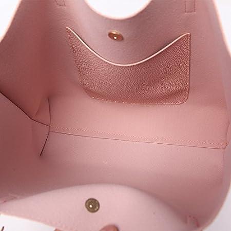 5790d45d0ab51 Leder-beiläufige Quaste-Handtaschen-weibliche Designer-Tasche Weinlese-große  Größen-Totalisator-Schulter-Tasche  Amazon.de  Koffer