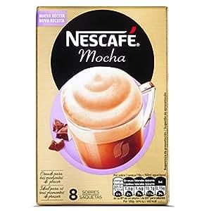 Nescafé Cappuccino - Café Soluble - 6 Paquetes de 8 Sobres