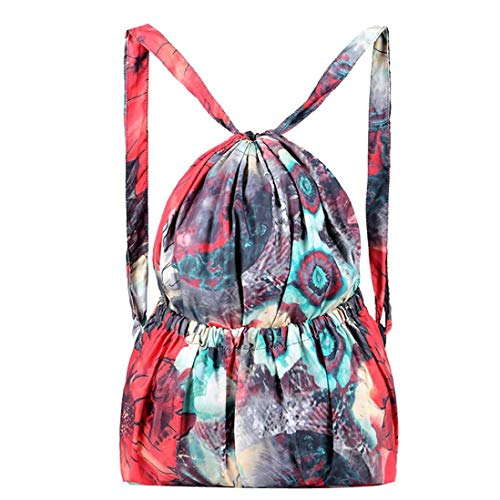 Bag Bag Travel Gourd Large A YJYDADA Fashion Shoulder A Bag Printed Bag Leisure Women Capacity xqwdXYd4