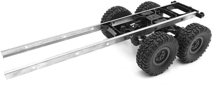 RC Tanque Aceite, RC Chasis de Remolque para WPL B24 B16 B36 B36KIT Camion Militar RC Piezas de Automoviles DIY Accesorio